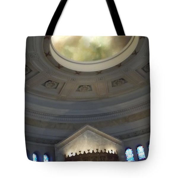 This Way To Heaven Tote Bag
