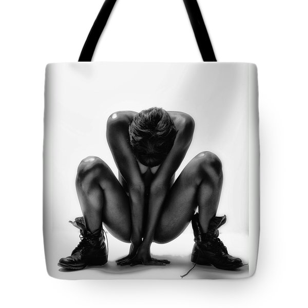 Tote Bag featuring the photograph This Woman's Work by Angelique Olin