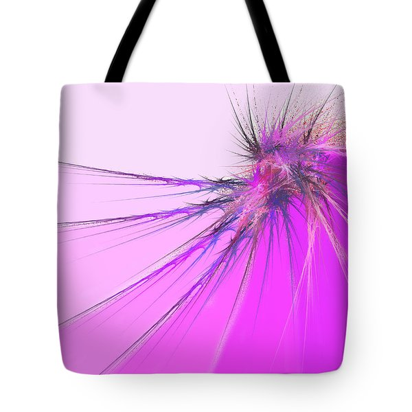 Thistle Tote Bag by Michael Durst