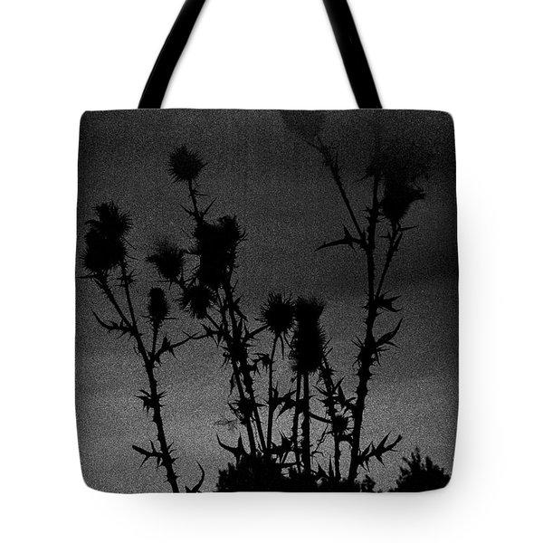 Thistles Tote Bag by Hakon Soreide