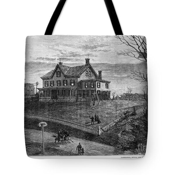 Thomas Edison Residence Tote Bag by Granger