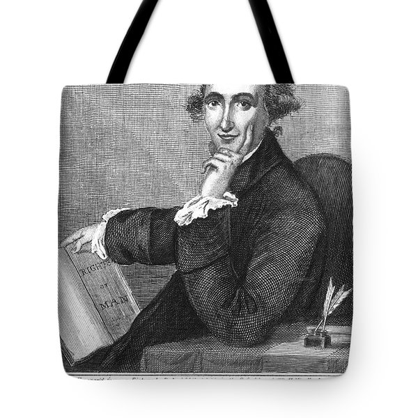 Thomas Paine (1737-1809) Tote Bag by Granger