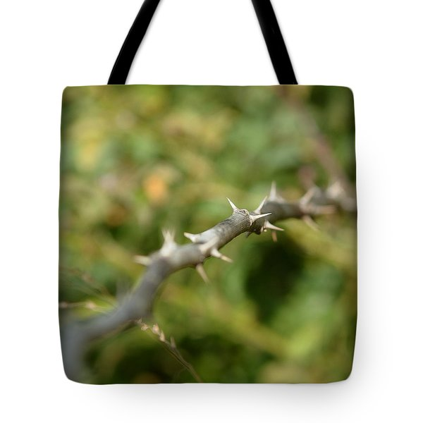 Thorny Tote Bag by Lisa Phillips