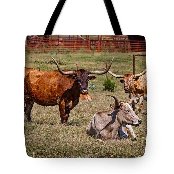 Three Amigos Tote Bag by Doug Long