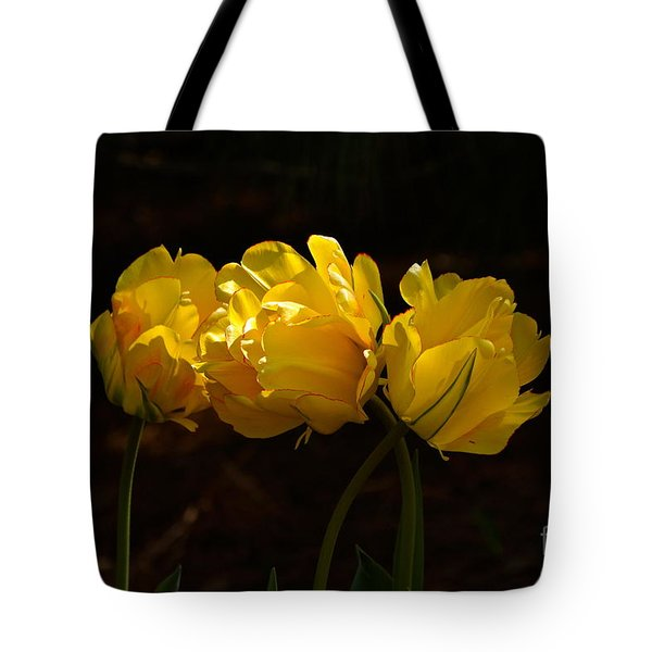 Three Cheers For April Tote Bag by Byron Varvarigos