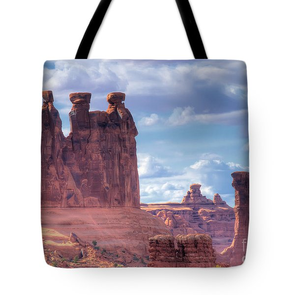 Three Gossips Tote Bag
