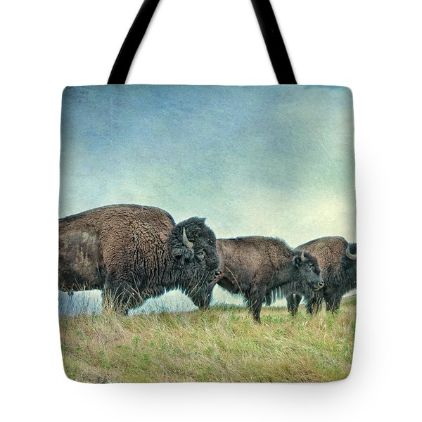 Three In A Row Tote Bag by Tamyra Ayles