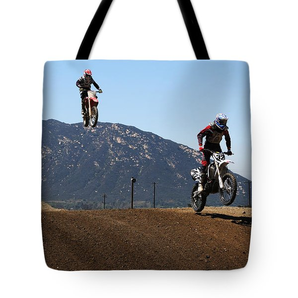 Three In The Air Tote Bag