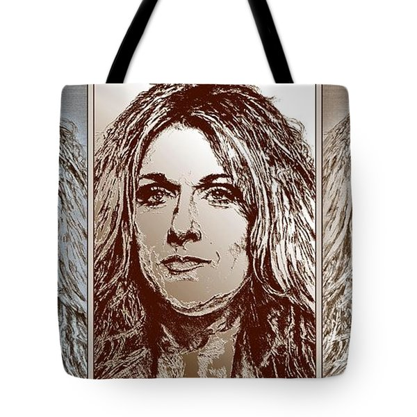 Three Interpretations Of Celine Dion Tote Bag