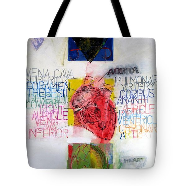 Three Of Hearts 32-52 Tote Bag by Cliff Spohn