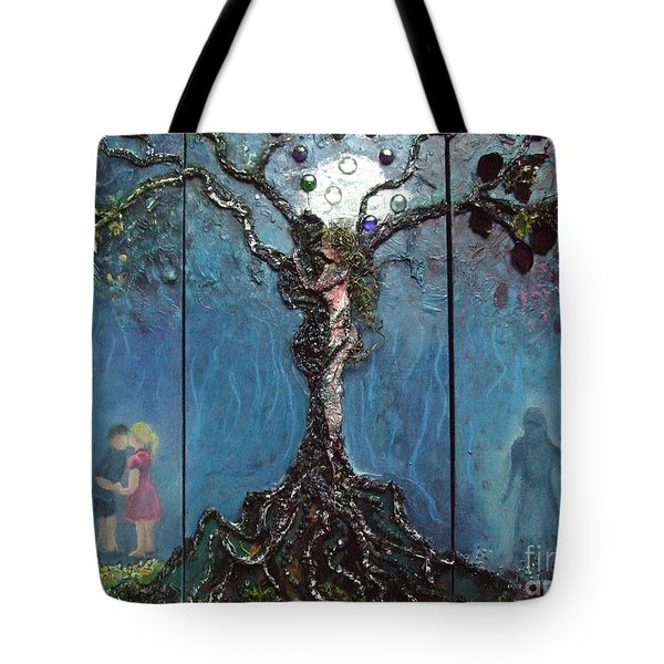 Three Stages Of Love Tote Bag
