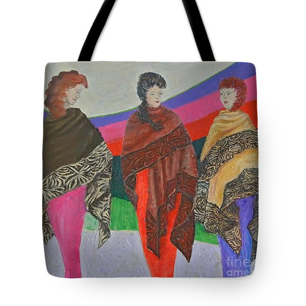 Three Women Tote Bag