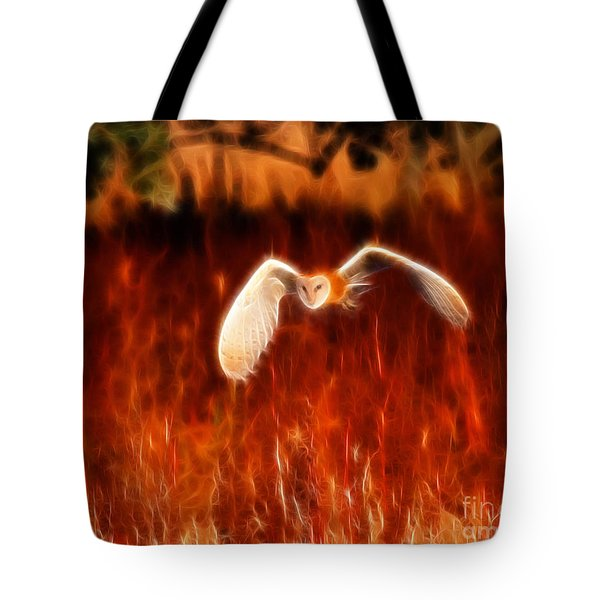 Through The Fire Tote Bag by Beth Sargent