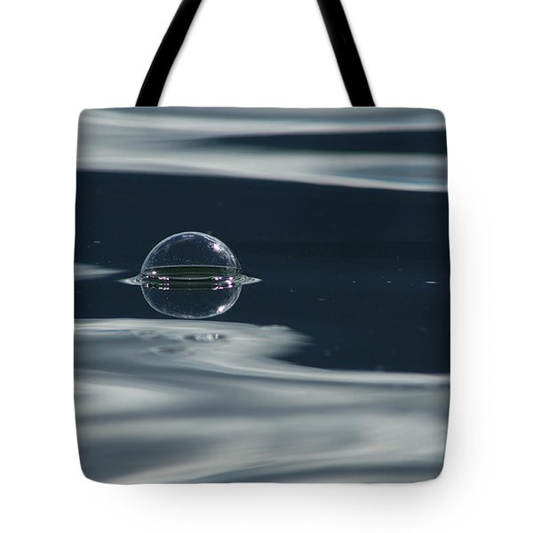 Through The Milky Way In My Spaceship Tote Bag by Cathie Douglas
