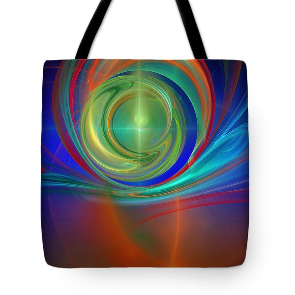 Through The Mind's Eye Tote Bag
