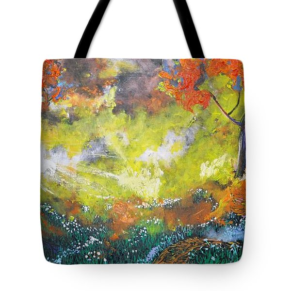 Through The Myst Tote Bag