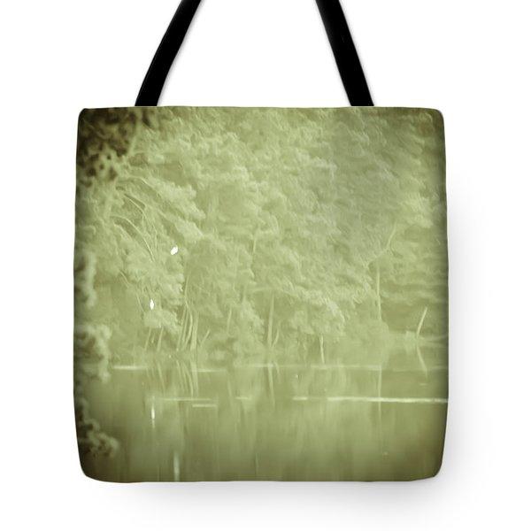 Through The Trees Tote Bag by Kim Henderson