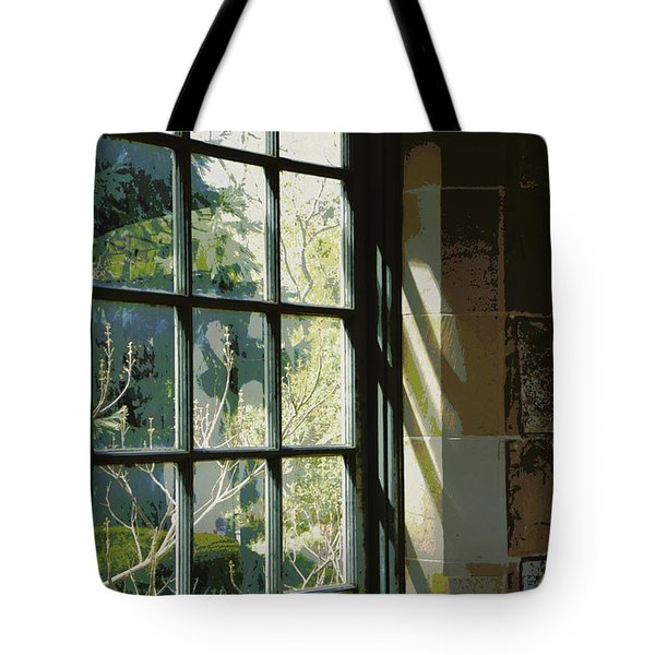 Tote Bag featuring the photograph View Through The Window by Marilyn Wilson