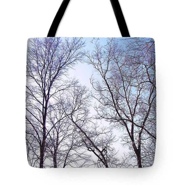 Tote Bag featuring the photograph Through To Heaven by Pamela Hyde Wilson