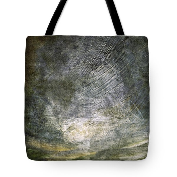 Thunder In The Distance Tote Bag