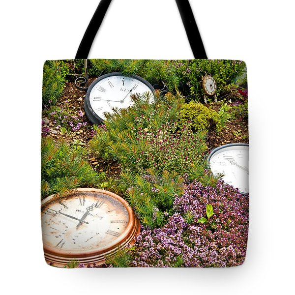 Thyme And Time Tote Bag by Chris Thaxter