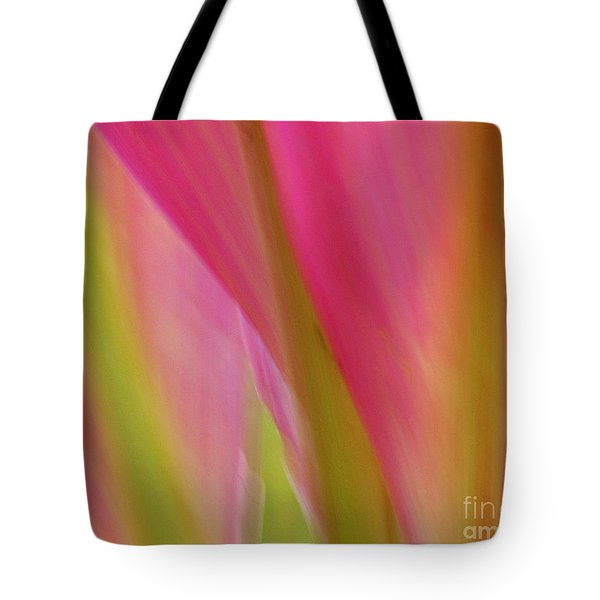 Tote Bag featuring the photograph Ti Leaves by Ranjini Kandasamy