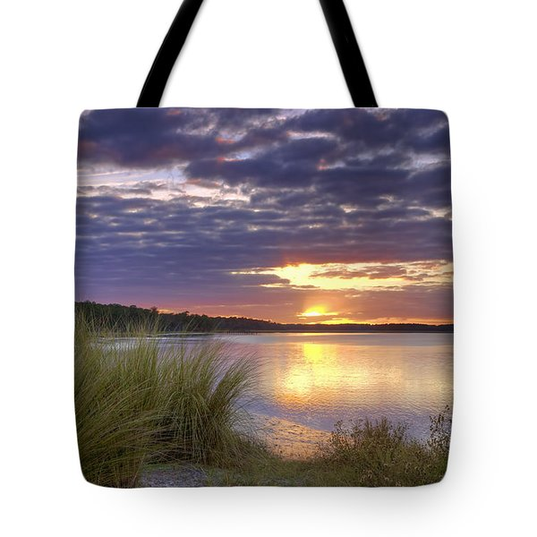 Tidal Estuary Tote Bag by Phill Doherty