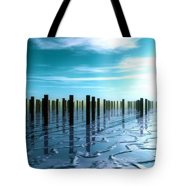 Tide Is Out... Tote Bag by Tim Fillingim