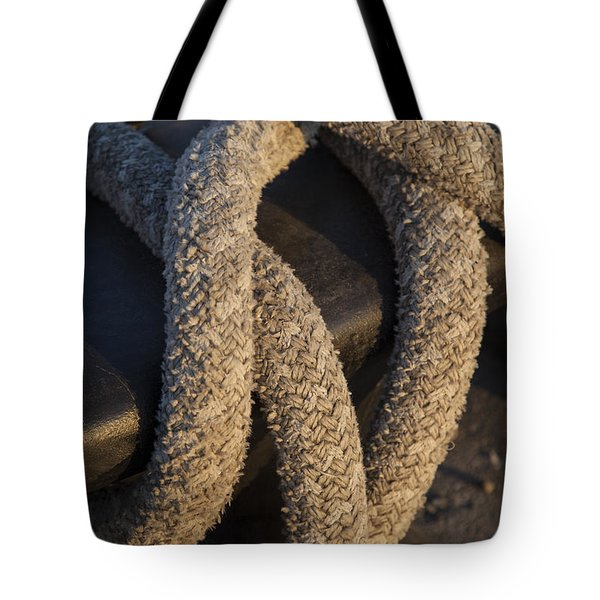 Tie Down Tote Bag