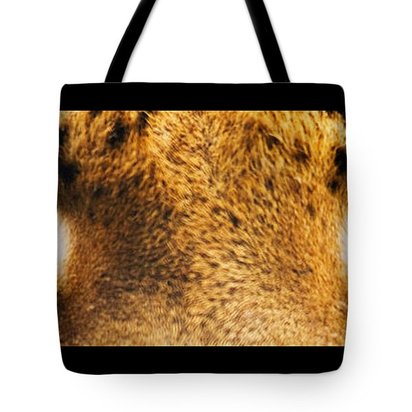 Tiger Eyes Tote Bag by Sumit Mehndiratta