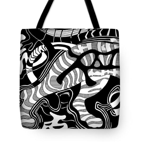 Tiger Legs Tote Bag