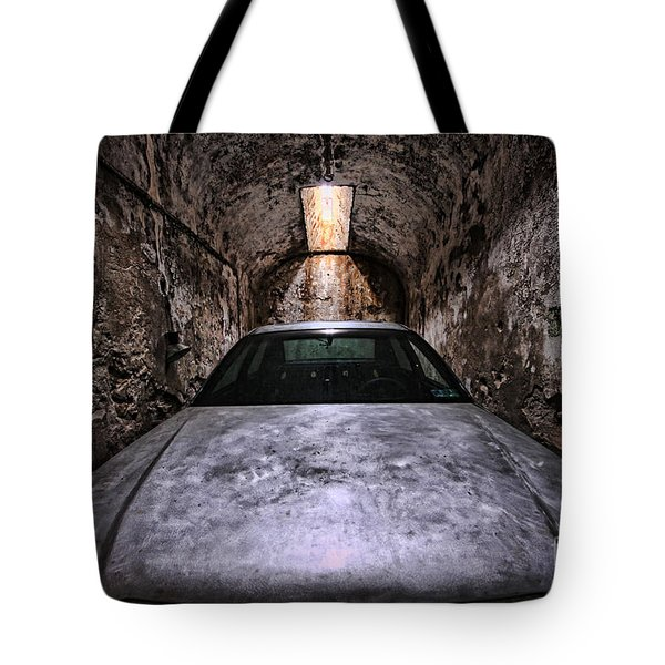 Tight Squeeze Tote Bag by Andrew Paranavitana