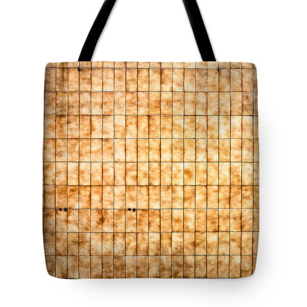 Tiled Wall Tote Bag by Tom Gowanlock