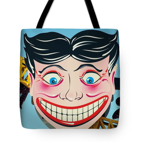 Tillie The Clown Of Coney Island Tote Bag