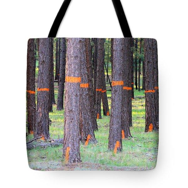 Timber Marking Tote Bag