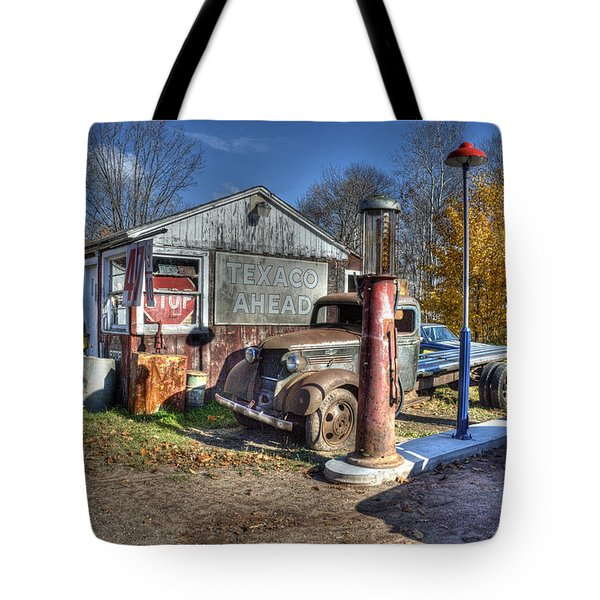 Time For A Fill-up Tote Bag