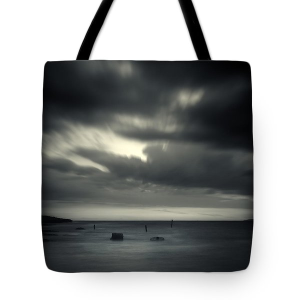 Time Tote Bag by Stelios Kleanthous