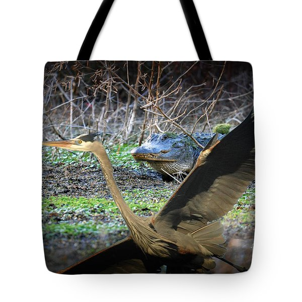 Tote Bag featuring the photograph Time To Leave by Dan Friend