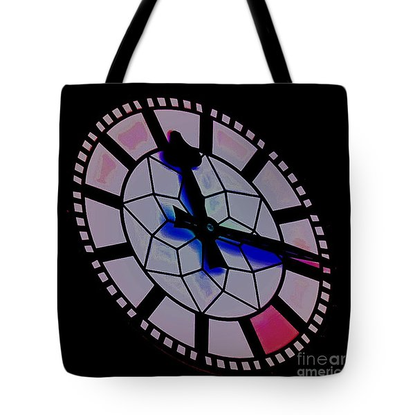 Tote Bag featuring the photograph Time Waits For No Man by Blair Stuart