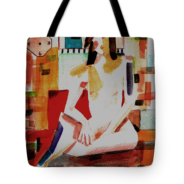 Tote Bag featuring the painting Timeless by Paula Ayers