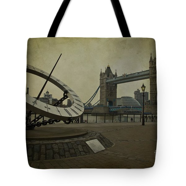 Timepiece. Tote Bag by Clare Bambers