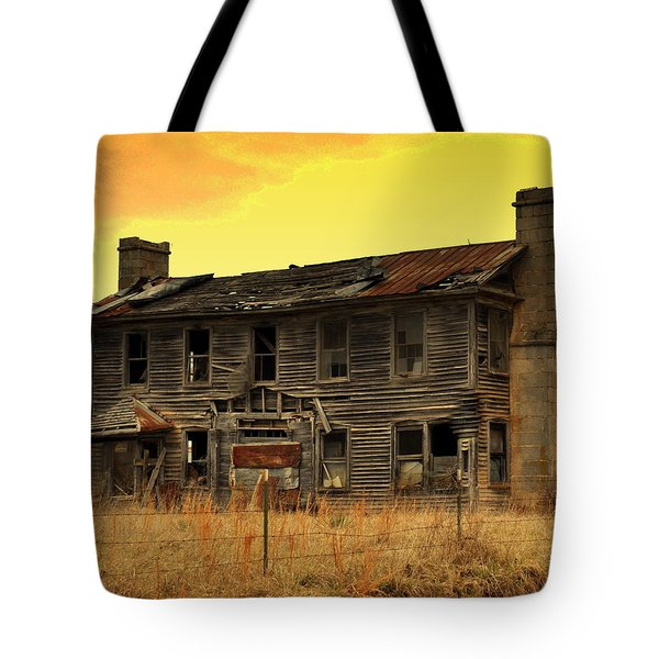 Tote Bag featuring the photograph Times Past by Marty Koch