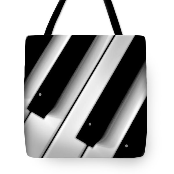 Tinkling The Ivories Tote Bag by Bill Cannon