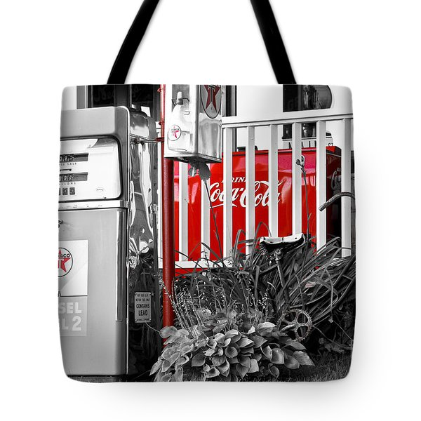 Tinted Fuel For Life Tote Bag by Brenda Giasson