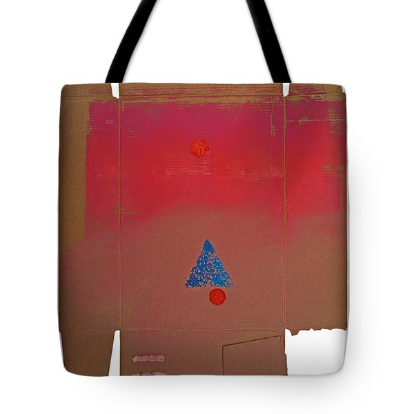 Tipi With Fire Tote Bag by Charles Stuart