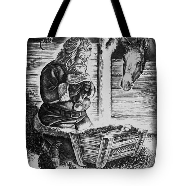 Tis The Reason For The Season Tote Bag by Virgil Stephens
