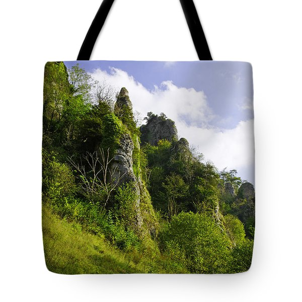 Tissington Spires Tote Bag by Rod Johnson