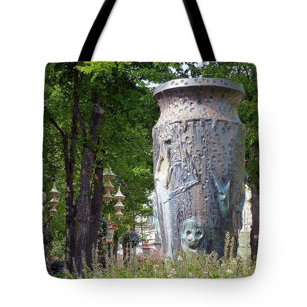 Tivoli Gardens Tote Bag
