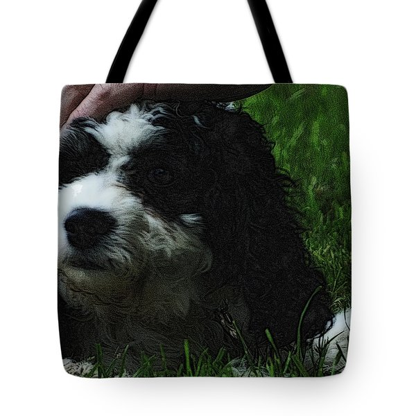 Tote Bag featuring the photograph TLC by Lydia Holly