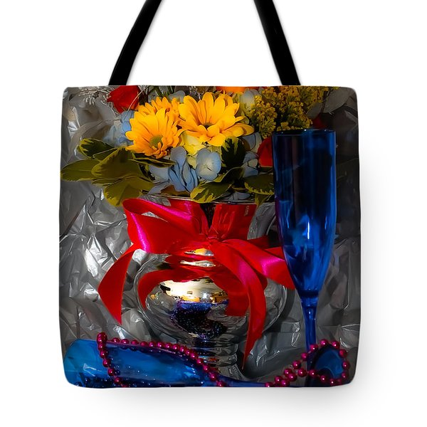 To 2012 Tote Bag by DigiArt Diaries by Vicky B Fuller